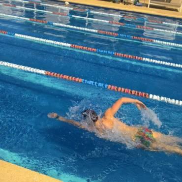 Video – delší plavecký trénink
